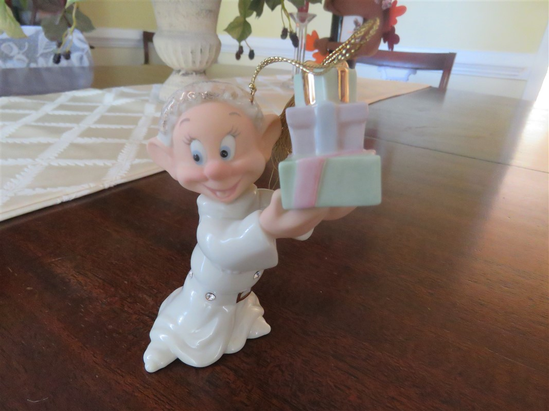 Christmas Figurine Collectibles Dopey